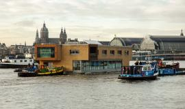 Investor wanted for a floating office building