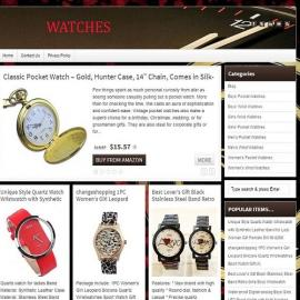 Watches Website Business For Sale