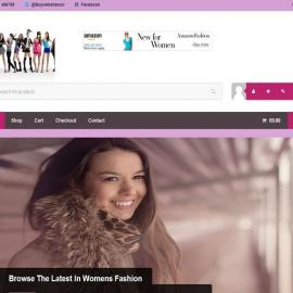 Womens Fashion Store Website Business For Sale