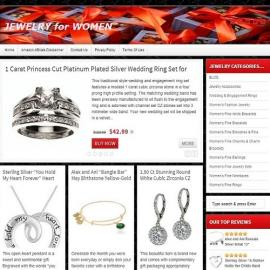 Jewelry Website Business For Sale
