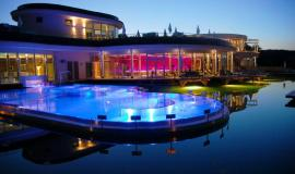 Spa Resort Hotel with thermal pool, rentable villa park